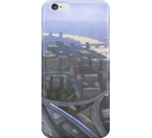 London, Looking West from the Shard iPhone Case/Skin
