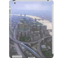 London, Looking West from the Shard iPad Case/Skin