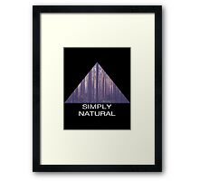 Simply Natural Forest Framed Print