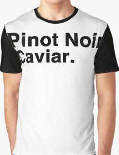 Pinot Noir Caviar Graphic T-Shirt
