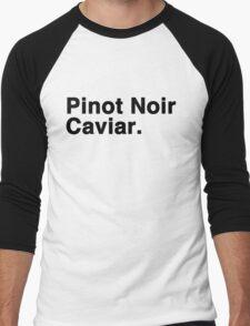 Pinot Noir Caviar Men's Baseball ¾ T-Shirt