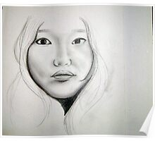 Grace Pencil Sketch Poster