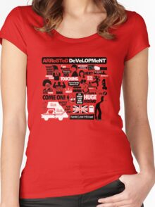 Arrested Development Women's Fitted Scoop T-Shirt