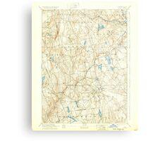 USGS TOPO Map Connecticut CT Gilead 331030 1892 62500 Metal Print