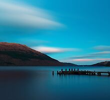 Loch Lomond Blue by Maria Gaellman
