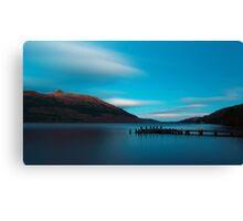 Loch Lomond Blue Canvas Print
