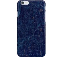 USGS TOPO Map Connecticut CT Gilead 331026 1892 62500 Inverted iPhone Case/Skin