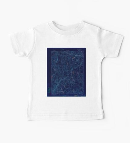 USGS TOPO Map Connecticut CT Gilead 331026 1892 62500 Inverted Baby Tee