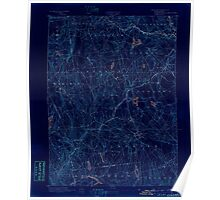 USGS TOPO Map Connecticut CT Gilead 331026 1892 62500 Inverted Poster