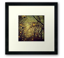 Fairy Wheel Framed Print