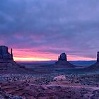 Monument Valley Sunrise by J. Day