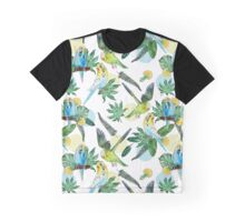 Watercolor parakeets Graphic T-Shirt