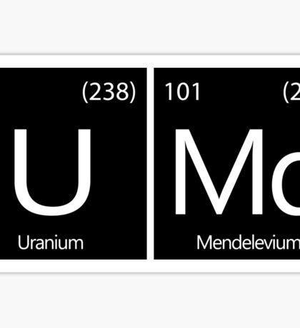 UMD Chemistry Sticker