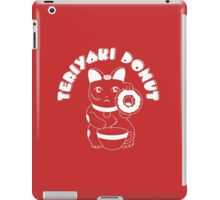 Teriyaki Donut - Reversed iPad Case/Skin