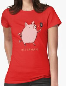 Instaham Womens Fitted T-Shirt