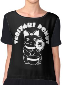 Teriyaki Donut - Reversed Chiffon Top