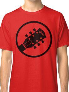 gibson  stylized headstock black Classic T-Shirt