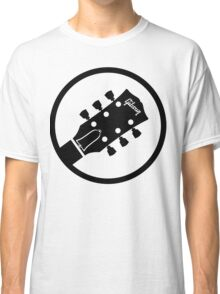gibson  stylized headstock black Classic T-Shirt