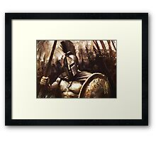 The Mightiest Warrior Framed Print