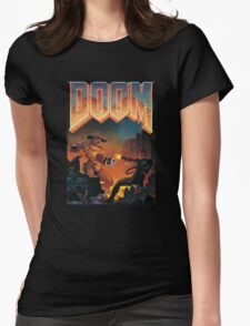 DOOM T-Shirt Womens Fitted T-Shirt