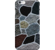 Painted Rocks in a Wall iPhone Case/Skin