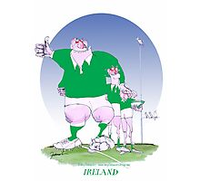 Rugby Ireland mates, tony fernandes Photographic Print