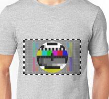 Vintage Television Test Pattern Unisex T-Shirt