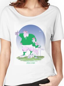 Rugby Ireland mates, tony fernandes Women's Relaxed Fit T-Shirt