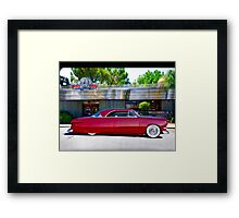 1951 Ford Custom Victoria Framed Print
