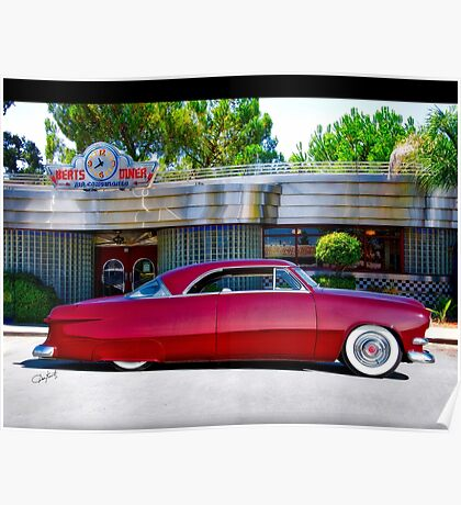 1951 Ford Custom Victoria Poster