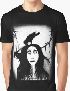 Her eyes so innocent... on hallowed ground. Graphic T-Shirt