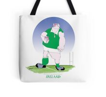 Rugby Ireland champion, tony fernandes Tote Bag