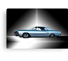 1963 Buick Custom Riviera Canvas Print