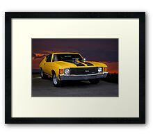 1970 Chevelle Super Sport  Framed Print