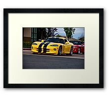 Dodge Viper GTS  Framed Print