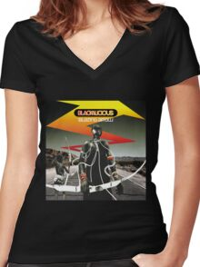 Blackalicious - Blazing Arrow Women's Fitted V-Neck T-Shirt