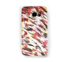 Schwarz Rot Gold Samsung Galaxy Case/Skin
