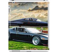 Jet Black Pantera II iPad Case/Skin