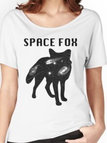 Fox - Filled with Space  Women's Relaxed Fit T-Shirt