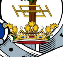 00024 Hamilton Clan Tartan  Sticker