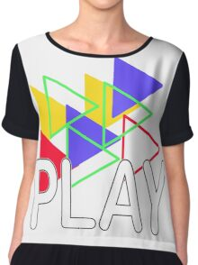 play by day composition Chiffon Top