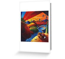 Evening Disquiet Greeting Card