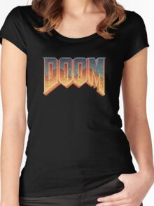 DOOM T-Shirt Women's Fitted Scoop T-Shirt