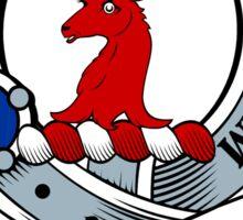 00030 Crawford Clan Tartan Sticker