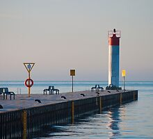 Whitby Lighthouse  by Gary Chapple
