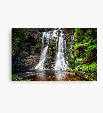 Wes Beckett Falls Canvas Print
