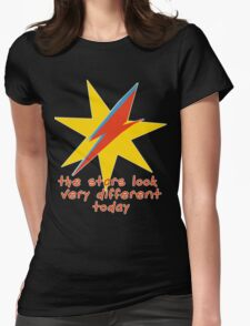 The Stars Look Very Different Today Womens Fitted T-Shirt