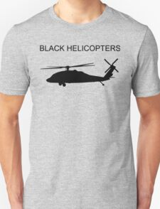 BLACK HELICOPTER Unisex T-Shirt