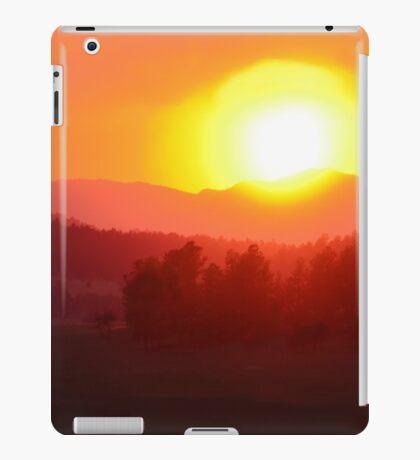 Wildfire Sunset iPad Case/Skin