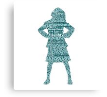 Matilda the Musical | Matilda Pose Canvas Print